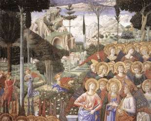 Angels Worshipping — Беноццо Гоццоли