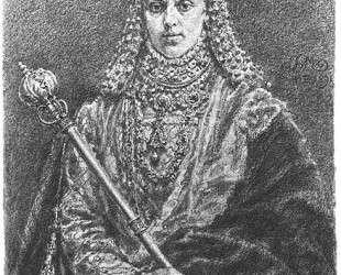 Anna Jagiellon — Ян Матейко