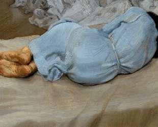Спящая Аннабель — Люсьен Фрейд