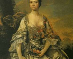 Anne or Molly Cracroft — Джозеф Райт