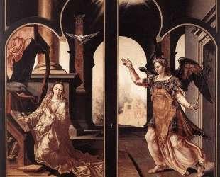 Annunciation — Мартен ван Хемскерк