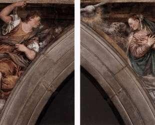 Annunciation — Паоло Веронезе