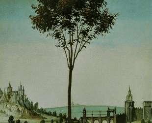 Благовещение Честелло (деталь) — Сандро Ботичелли