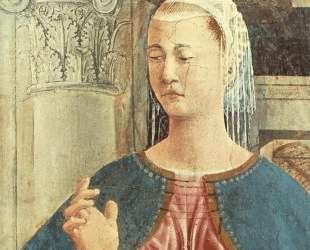 Благовещение (деталь) — Пьеро делла Франческа