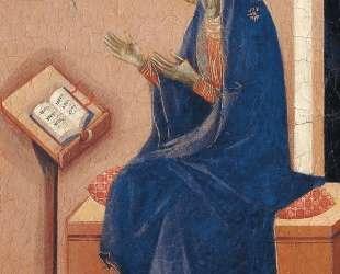 Annunciation (Fragment) — Дуччо