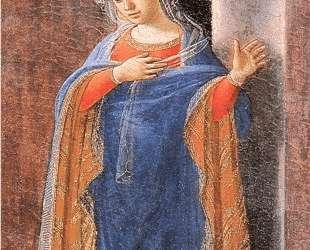 Annunciation, right wing — Филиппо Липпи
