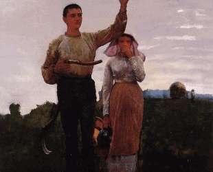 Answering the Horn — Уинслоу Хомер