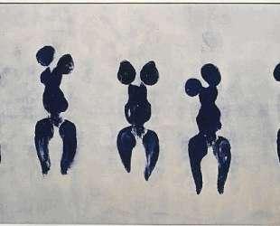Anthropometry of the blue period — Ив Кляйн