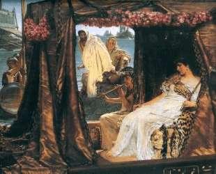 Антоний и Клеопатра — Лоуренс Альма-Тадема