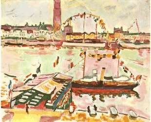 Гавань Антверпена — Жорж Брак