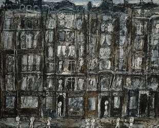 Apartment Houses, Paris — Жан Дюбюффе