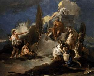 Apollo and Marsyas — Джованни Баттиста Тьеполо