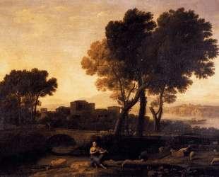 Apollo Guarding the Herds of Admetus — Клод Лоррен