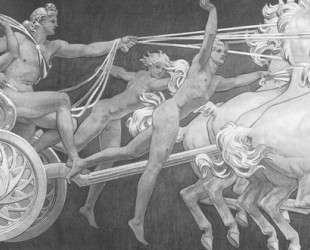 Apollo in His Chariot with the Hours — Джон Сингер Сарджент