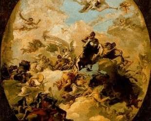 Apotheosis of Hercules — Джованни Доменико Тьеполо