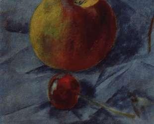 Яблоко и вишня — Кузьма Петров-Водкин