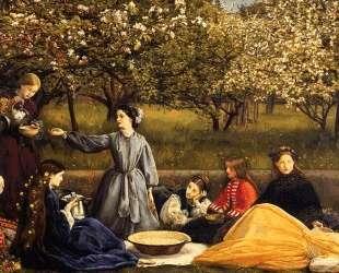 Apple Blossoms — Джон Эверетт Милле