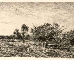 Яблони в Овере — Шарль-Франсуа Добиньи