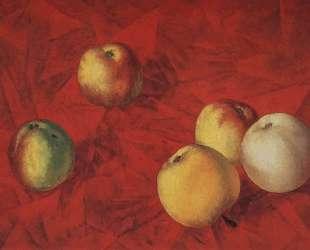 Яблоки — Кузьма Петров-Водкин