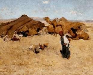 Arab Encampment, Biskra — Уиллард Меткалф