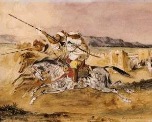 Арабская фантазия — Эжен Делакруа