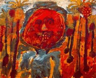 Arab palm trees — Жан Дюбюффе