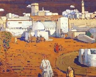 Арабский город — Василий Кандинский