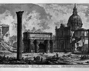 Arch of Septimius Severus — Джованни Баттиста Пиранези