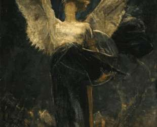 Archangel, study for the Foundation of Faith — Николаос Гизис