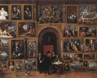 Archduke Leopold Wilhelm of Austria in his Gallery — Давид Тенирс Младший