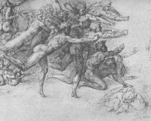 Archers shooting at a herm — Микеланджело