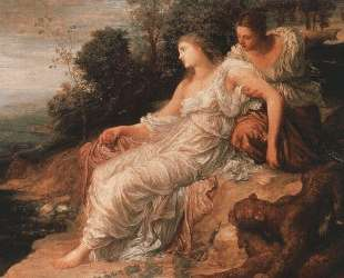 Ariadne on the Island of Naxos — Джордж Фредерик Уоттс