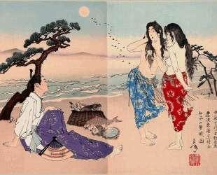 Ariwara no Yukihira — Цукиока Ёситоси