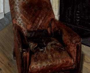 Кресло у камина — Люсьен Фрейд