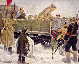 Arresting Generals during the Revolution in February 1917 — Иван Владимиров