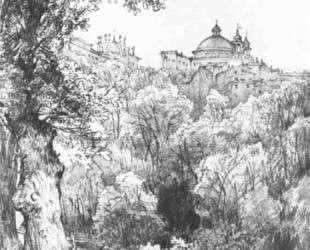 Arricia near Rome — Михаил Лебедев