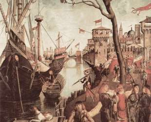 Arrival of St. Ursula during the Siege of Cologne — Витторе Карпаччо