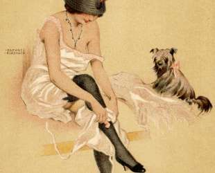 Arugula and his dog — Рафаэль Кирхнер