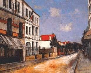 Asnieres street — Морис Утрилло