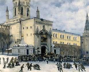 Assault on the Kremlin in 1917 — Константин Юон