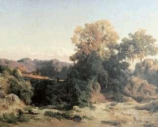 At Alban Hills — Арнольд Бёклин