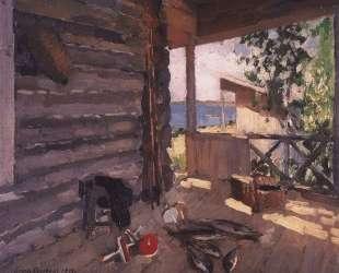 На Сенежском озере — Константин Коровин