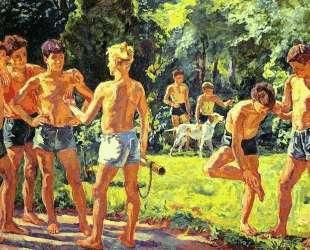 Летом — Пётр Кончаловский