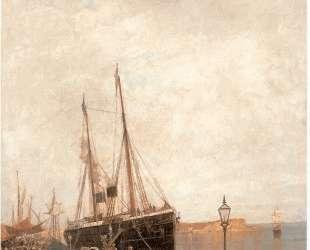 At the dock — Константинос Воланакис