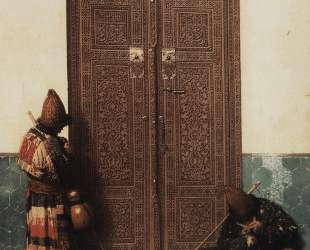 At the Door of a Mosque — Василий Верещагин