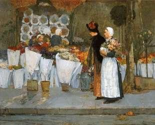 At the Florist — Чайльд Гассам