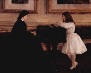 At the Piano — Джеймс Эббот Макнил Уистлер