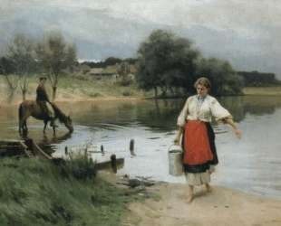 At the River — Николай Пимоненко