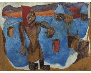В сибирском селе — Давид Бурлюк