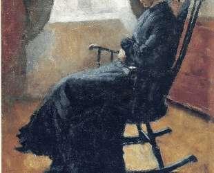 Тетя Карен в кресле-качалке — Эдвард Мунк